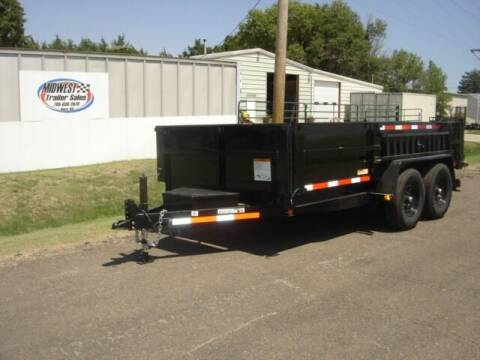 2022 7 X 14 CARRY ON DUMP for sale at Midwest Trailer Sales & Service in Agra KS