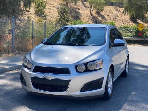 2013 Chevrolet Sonic for sale at ZaZa Motors in San Leandro CA