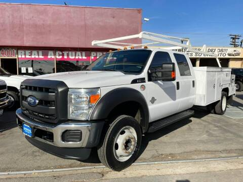 2016 Ford F-550 Super Duty for sale at Sanmiguel Motors in South Gate CA