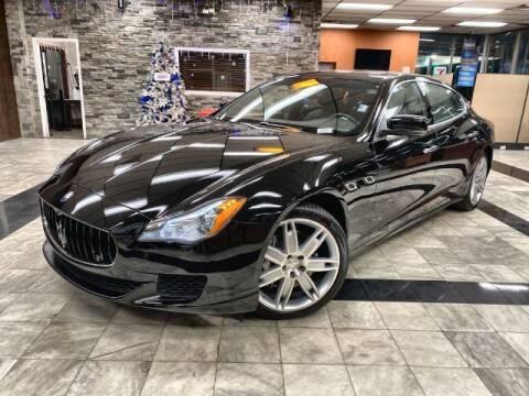 2015 Maserati Quattroporte for sale at Sonias Auto Sales in Worcester MA