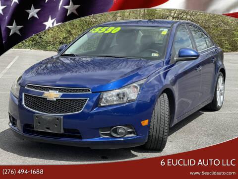 2012 Chevrolet Cruze for sale at 6 Euclid Auto LLC in Bristol VA