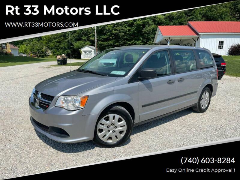 2014 Dodge Grand Caravan for sale at Rt 33 Motors LLC in Rockbridge OH