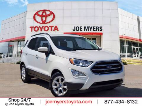 2018 Ford EcoSport for sale at Joe Myers Toyota PreOwned in Houston TX
