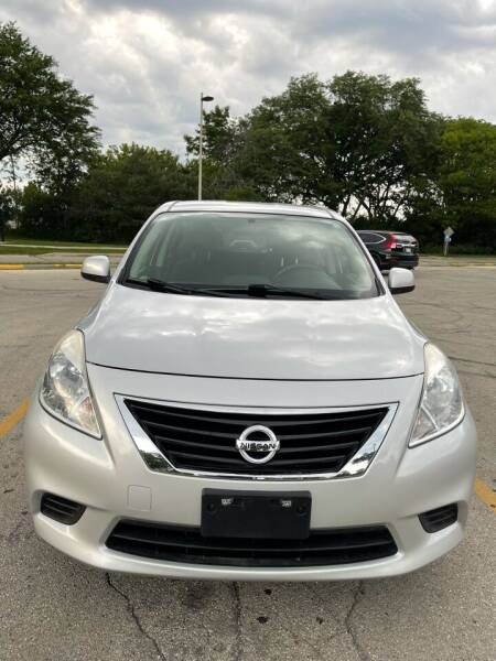 2012 Nissan Versa for sale at Sphinx Auto Sales LLC in Milwaukee WI