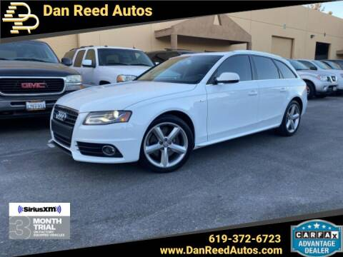 2012 Audi A4 for sale at Dan Reed Autos in Escondido CA