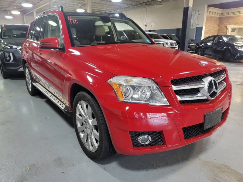 2011 Mercedes-Benz GLK for sale at AW Auto & Truck Wholesalers  Inc. in Hasbrouck Heights NJ
