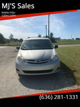 2007 Toyota Sienna for sale at MJ'S Sales in O'Fallon MO