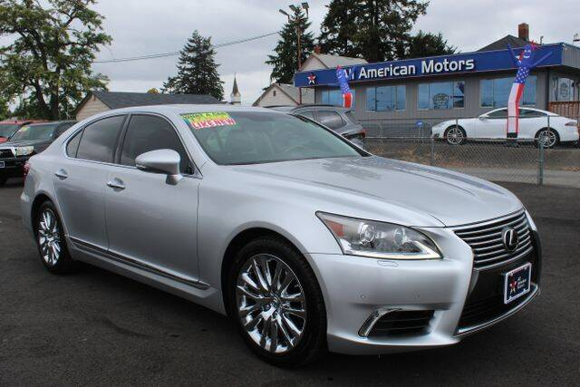 2014 Lexus LS 460 for sale at All American Motors in Tacoma WA