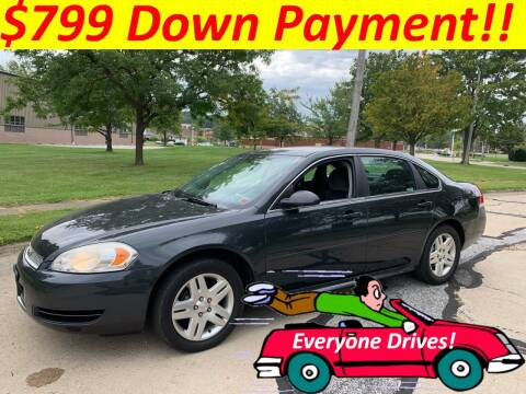 2013 Chevrolet Impala for sale at World Automotive in Euclid OH