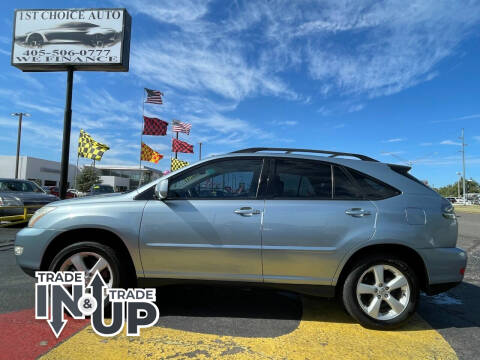 2004 Lexus RX 330 for sale at 1st Choice Auto L.L.C in Oklahoma City OK