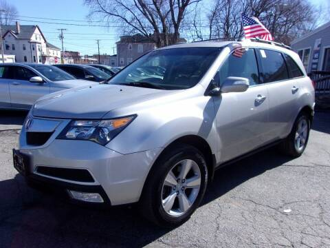 2012 Acura MDX for sale at Top Line Import in Haverhill MA