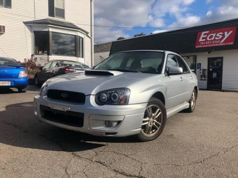 2005 Subaru Impreza for sale at Easy Autoworks & Sales in Whitman MA