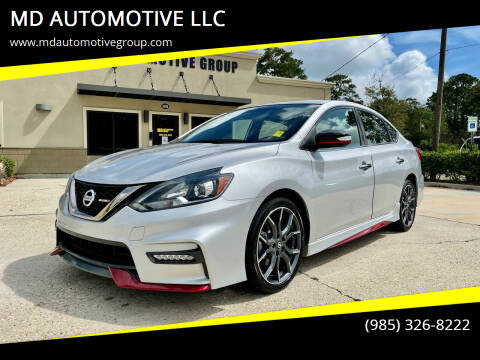2017 Nissan Sentra for sale at MD AUTOMOTIVE LLC in Slidell LA