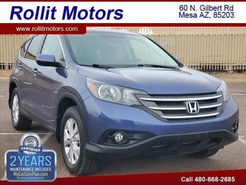 2013 Honda CR-V for sale at Rollit Motors in Mesa AZ