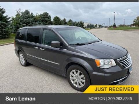2015 Chrysler Town and Country for sale at Sam Leman CDJRF Morton in Morton IL