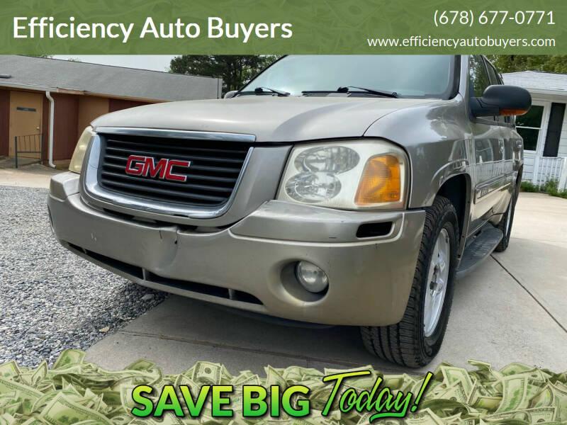 2003 GMC Envoy for sale at Efficiency Auto Buyers in Milton GA