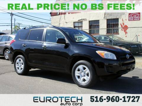 2012 Toyota RAV4 for sale at EUROTECH AUTO CORP in Island Park NY