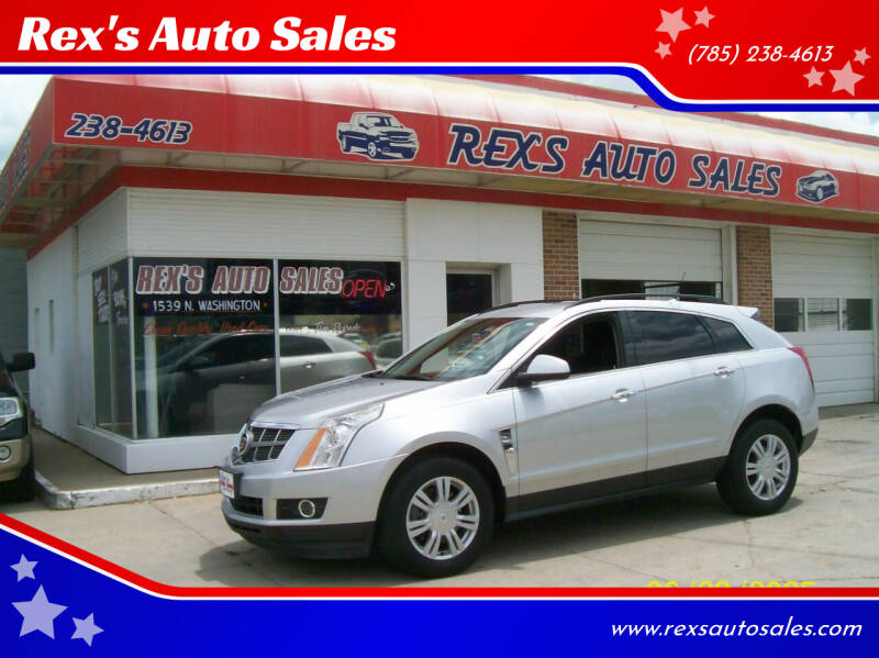 2010 Cadillac SRX for sale at Rex's Auto Sales in Junction City KS