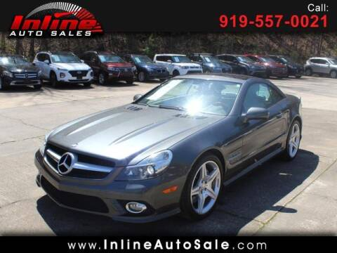 2012 Mercedes-Benz SL-Class for sale at Inline Auto Sales in Fuquay Varina NC