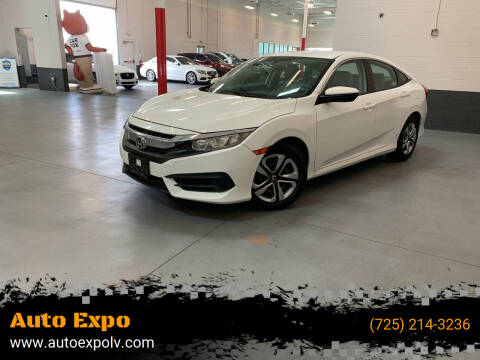 2016 Honda Civic for sale at Auto Expo in Las Vegas NV