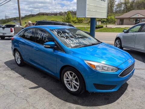 2015 Ford Focus for sale at Route 22 Autos in Zanesville OH