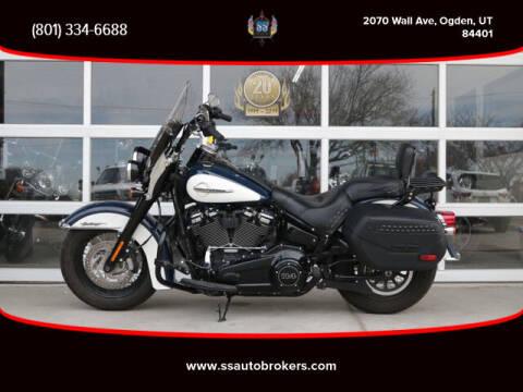 2019 Harley-Davidson FLHCS Heritage Classic 114 for sale at S S Auto Brokers in Ogden UT