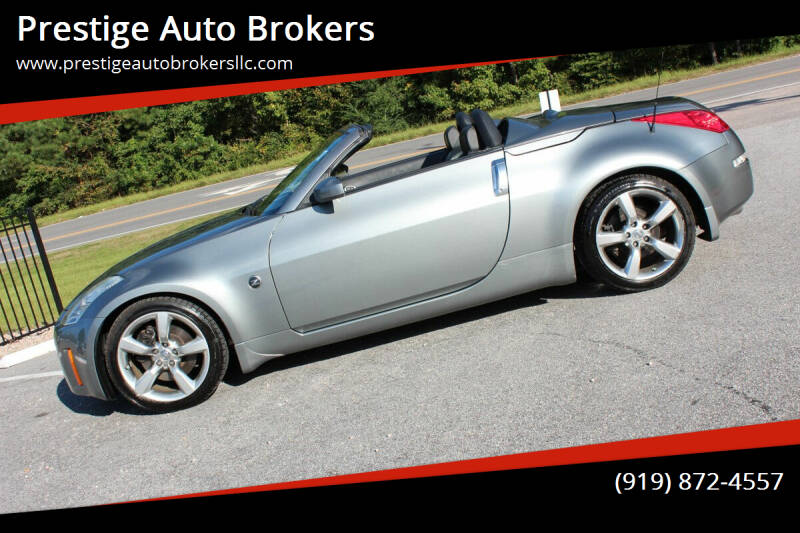 2006 Nissan 350Z for sale at Prestige Auto Brokers in Raleigh NC