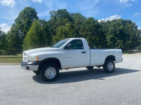 2004 Dodge Ram Pickup 2500 for sale at GTO United Auto Sales LLC in Lawrenceville GA