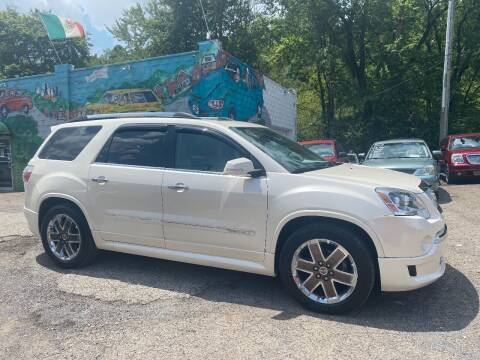 2012 GMC Acadia for sale at Showcase Motors in Pittsburgh PA