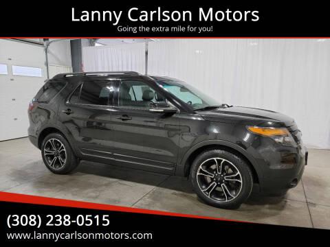 2015 Ford Explorer for sale at Lanny Carlson Motors in Kearney NE
