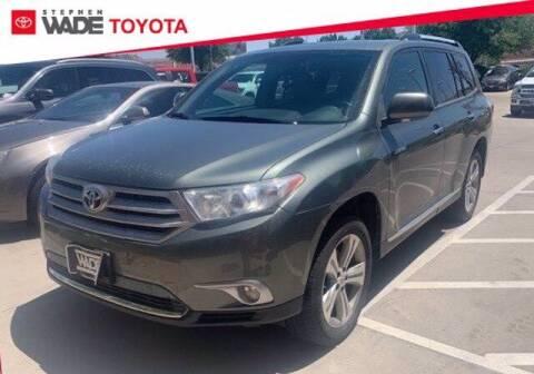 2013 Toyota Highlander for sale at Stephen Wade Pre-Owned Supercenter in Saint George UT