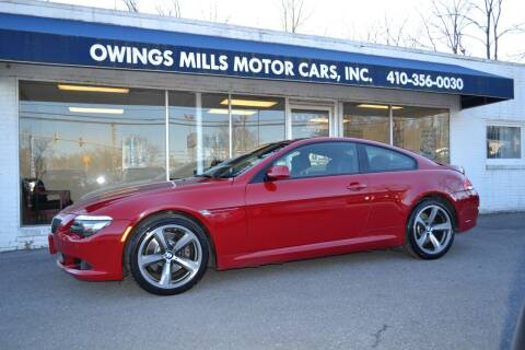 2009 BMW 6 Series for sale at Owings Mills Motor Cars in Owings Mills MD