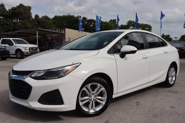 2019 Chevrolet Cruze for sale at OCEAN AUTO SALES in Miami FL