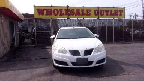 2010 Pontiac G6 for sale at LONG BROTHERS CAR COMPANY in Cleveland OH