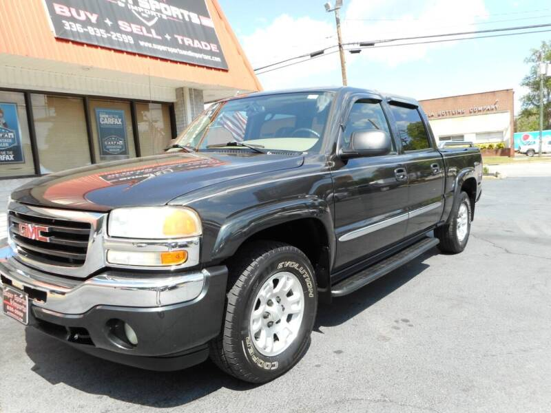 2005 GMC Sierra 1500 for sale at Super Sports & Imports in Jonesville NC