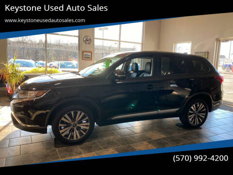 2019 Mitsubishi Outlander for sale at Keystone Used Auto Sales in Brodheadsville PA