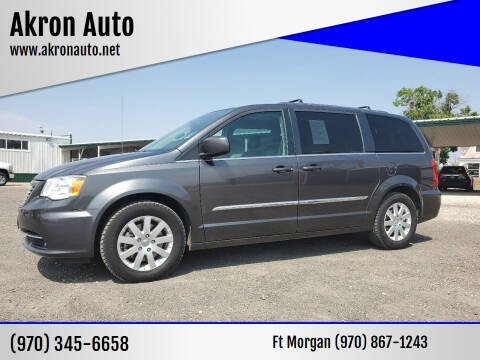 2016 Chrysler Town and Country for sale at Akron Auto in Akron CO
