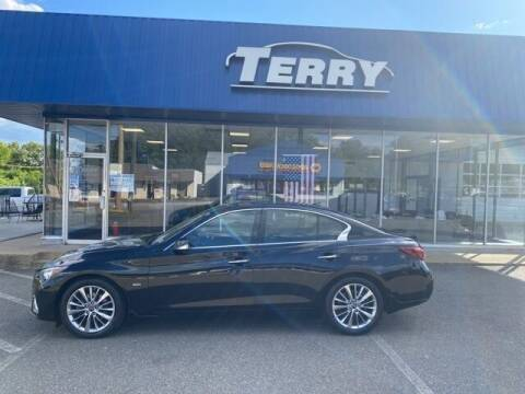 2018 Infiniti Q50 for sale at Terry of South Boston in South Boston VA