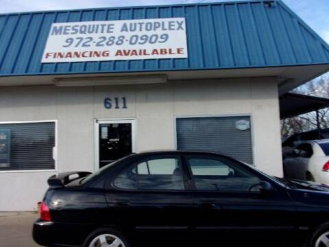 2006 Nissan Sentra for sale at MESQUITE AUTOPLEX in Mesquite TX