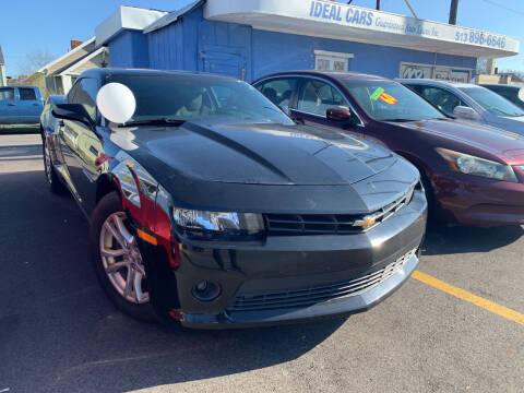 2015 Chevrolet Camaro for sale at Ideal Cars in Hamilton OH