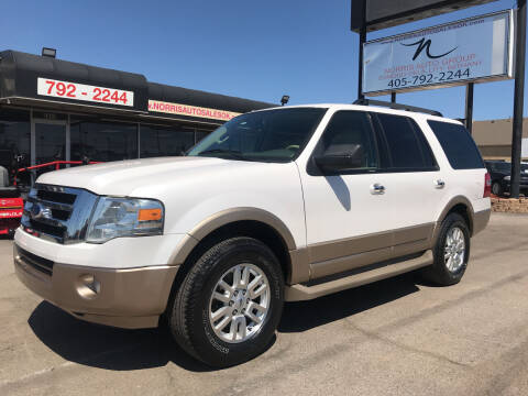 2012 Ford Expedition for sale at NORRIS AUTO SALES in Oklahoma City OK
