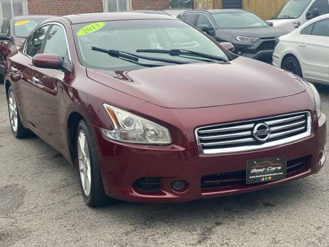 2013 Nissan Maxima for sale at Best Cars Auto Sales in Everett MA