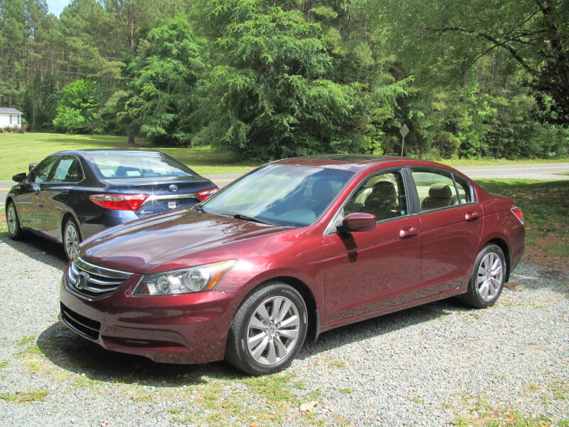 2012 Honda Accord for sale at White Cross Auto Sales in Chapel Hill NC