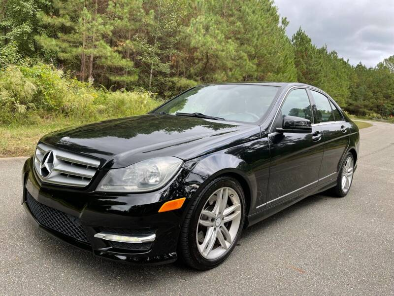 2013 Mercedes-Benz C-Class for sale at Carrera AutoHaus Inc in Clayton NC