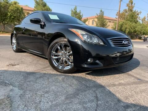 2013 Infiniti G37 Coupe for sale at Boktor Motors in Las Vegas NV
