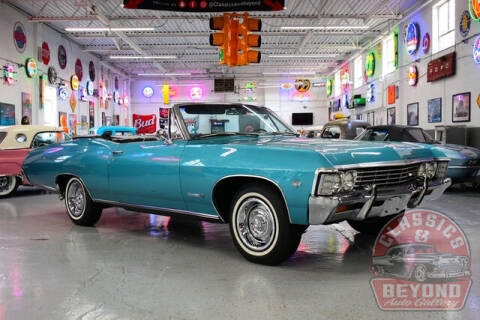 1967 Chevrolet Impala for sale at Classics and Beyond Auto Gallery in Wayne MI