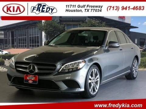 2019 Mercedes-Benz C-Class for sale at FREDYS CARS FOR LESS in Houston TX