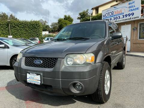 2006 Ford Escape for sale at MotorMax in Lemon Grove CA