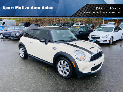 2010 MINI Cooper for sale at Sport Motive Auto Sales in Seattle WA