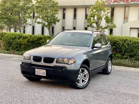 2005 BMW X3 for sale at Carfornia in San Jose CA